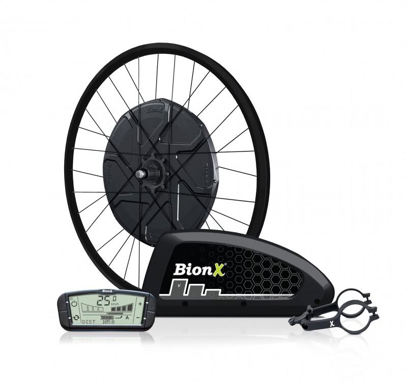 BIONX D-series 555Wh - ultravýkonná elektrosada s baterií do rámu