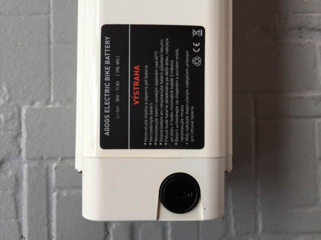 Baterie 36V/10Ah LiPol 2011