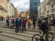 Jarní cyklojízda v Liberci - Do práce na kole 2014
