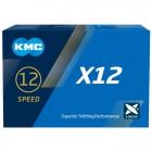 Řetěz KMC X-12 stříbrný