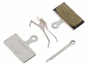 Brzdové destičky Shimano G02A polymerové, Shimano