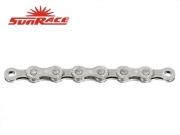 Řetěz SunRace M84E 138 čl. 8-speed - E-Bike - stříbrný